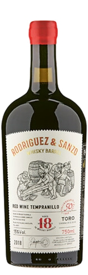 Rodríguez & Sanzo Whisky Barrel